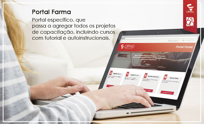 Portal Farma é o novo espaço para as capacitações e projetos do CRF/MG